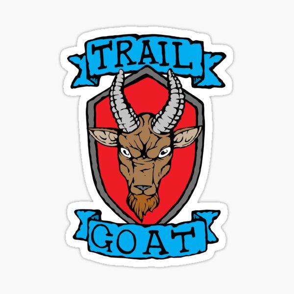 Trail Goat - Goat Rage - Emblem - Colour Sticker