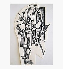 Sculpture drawing Photographic Print