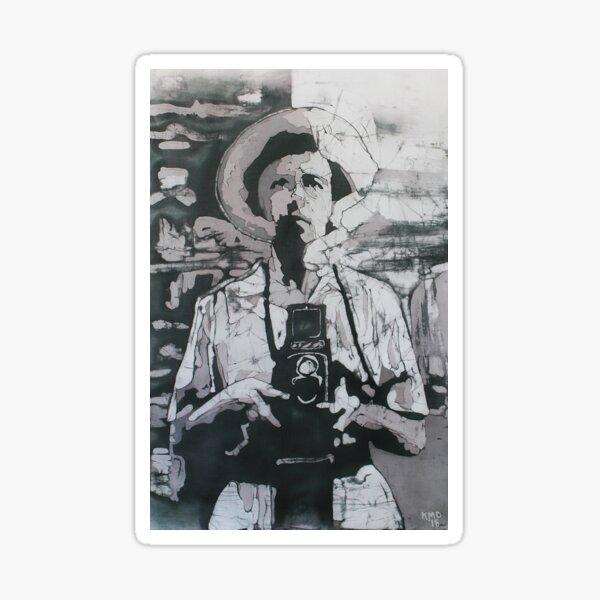 Vivian Maier Batik Sticker
