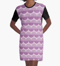 Lavanda Graphic T-Shirt Dress