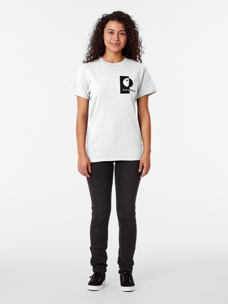 Alternate view of Vintage 1919 Bauhaus Logo Classic T-Shirt