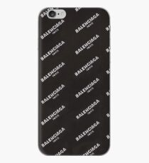 Black Balenciaga iPhone Case