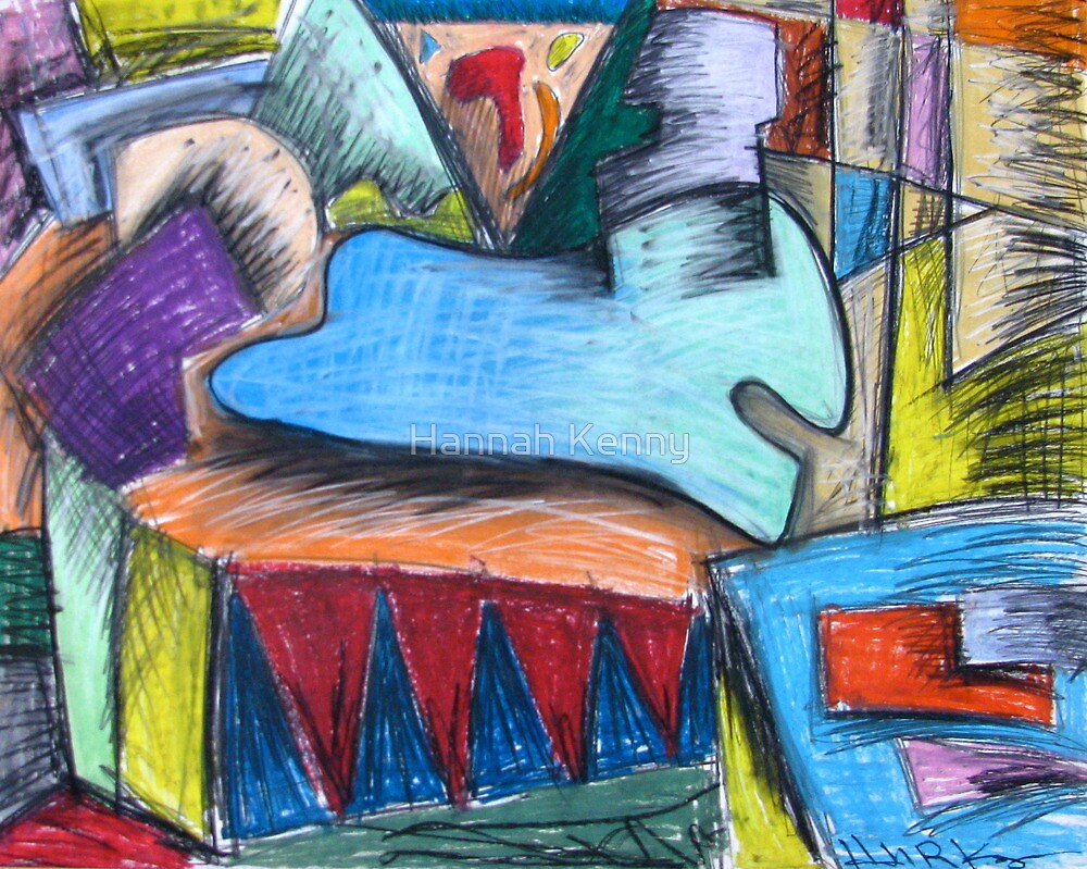 Rocking Horse by Hannah Kenny