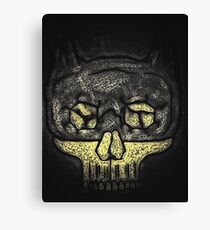 Dark Knight Skull Canvas Print