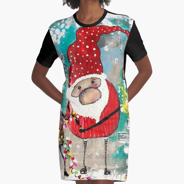 Friends & Cheer  Graphic T-Shirt Dress
