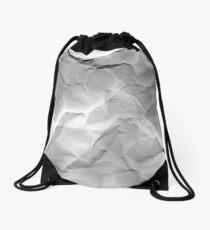 crumpled Drawstring Bag