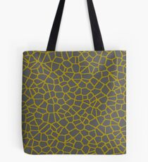 Staklo (Gray/Gold) Tote Bag