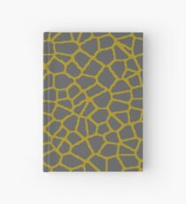 Staklo (Gray/Gold) Hardcover Journal