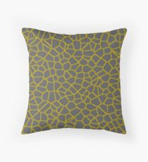 Staklo (Gray/Gold) Floor Pillow