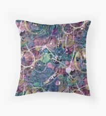 Gears of Creation Throw Pillow