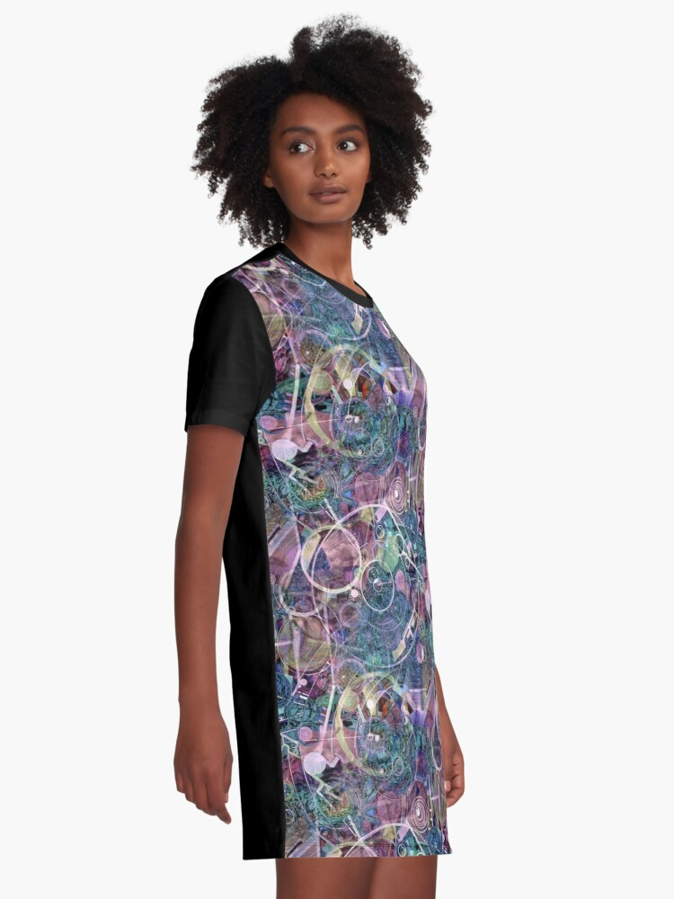 Alternate view of Gears of Creation Graphic T-Shirt Dress