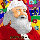 Santa is a Long Haired Hippie  by KarlyleTomms