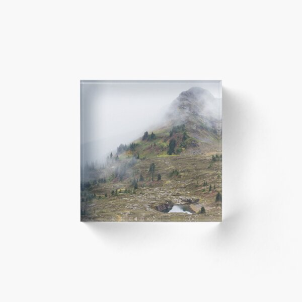 Top Fog Acrylic Block