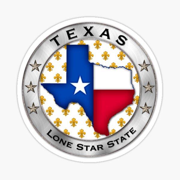 Texas French Sticker