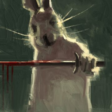Warrior rabbit by christianmuller