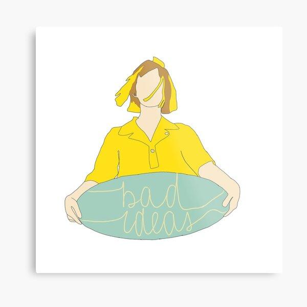 Bad Ideas - Tessa Violet Metal Print