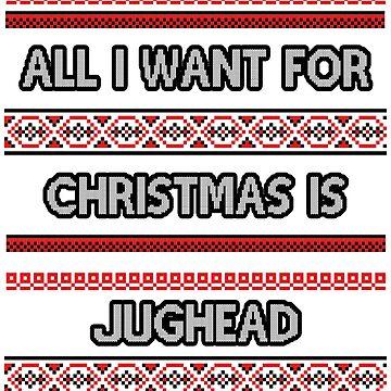 Ugly Christmas Sweater - Jughead by amandamedeiros