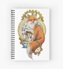 Fox; Keeper of Time Spiral Notebook