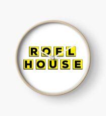 ROFL House (Waffle House Parody) Clock