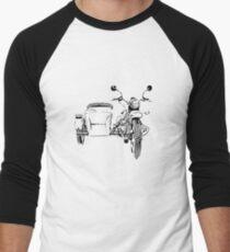 Sidecar motorcycle Men's Baseball ¾ T-Shirt
