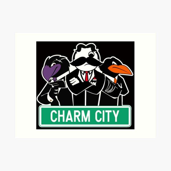 Charm City Gang Art Print