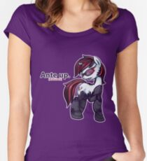 Ante Up - Augmented V2 Women's Fitted Scoop T-Shirt