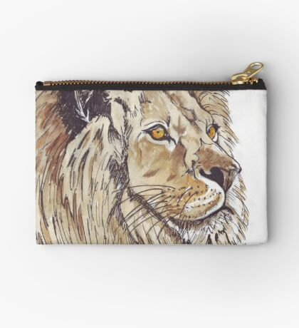 Dominion (African Lion) Zipper Pouch