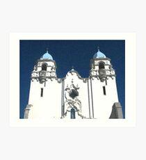Church in Livermore, California Art Print
