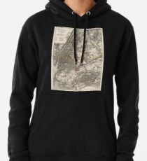 Sudadera con capucha 0152 Railroad Maps Map of New York City Brooklyn and vicinity showing surface elevated railroads in operation and