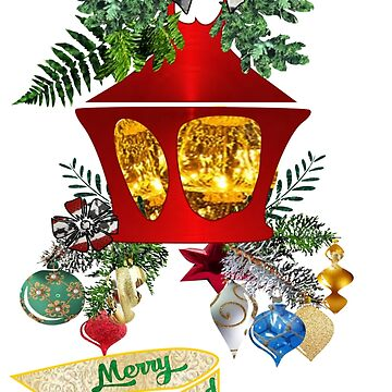 Christmas Lantern by aldona