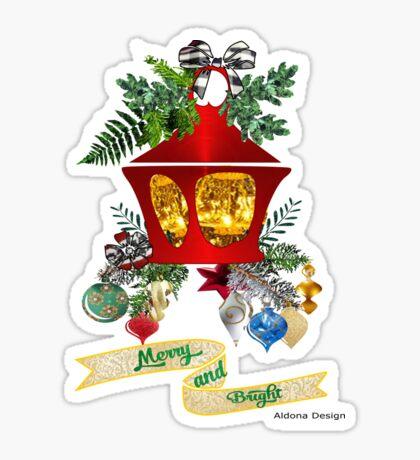 Christmas Lantern Sticker