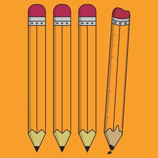 TShirtGifter presents: Pencils are Individuals too