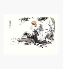The Mad Monk Art Print