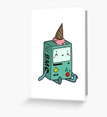 BMO adventure time Greeting Card