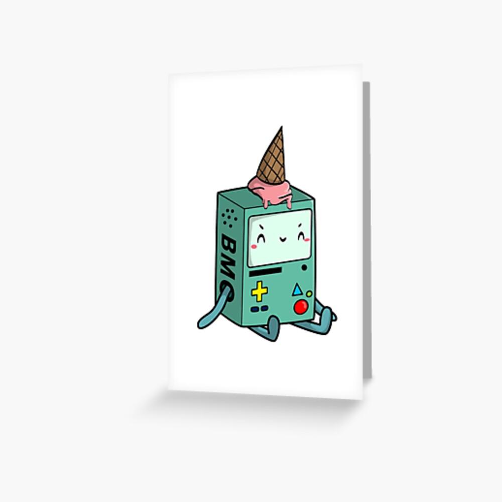 BMO adventure time Greeting Card