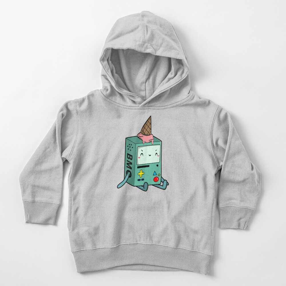 BMO adventure time Toddler Pullover Hoodie
