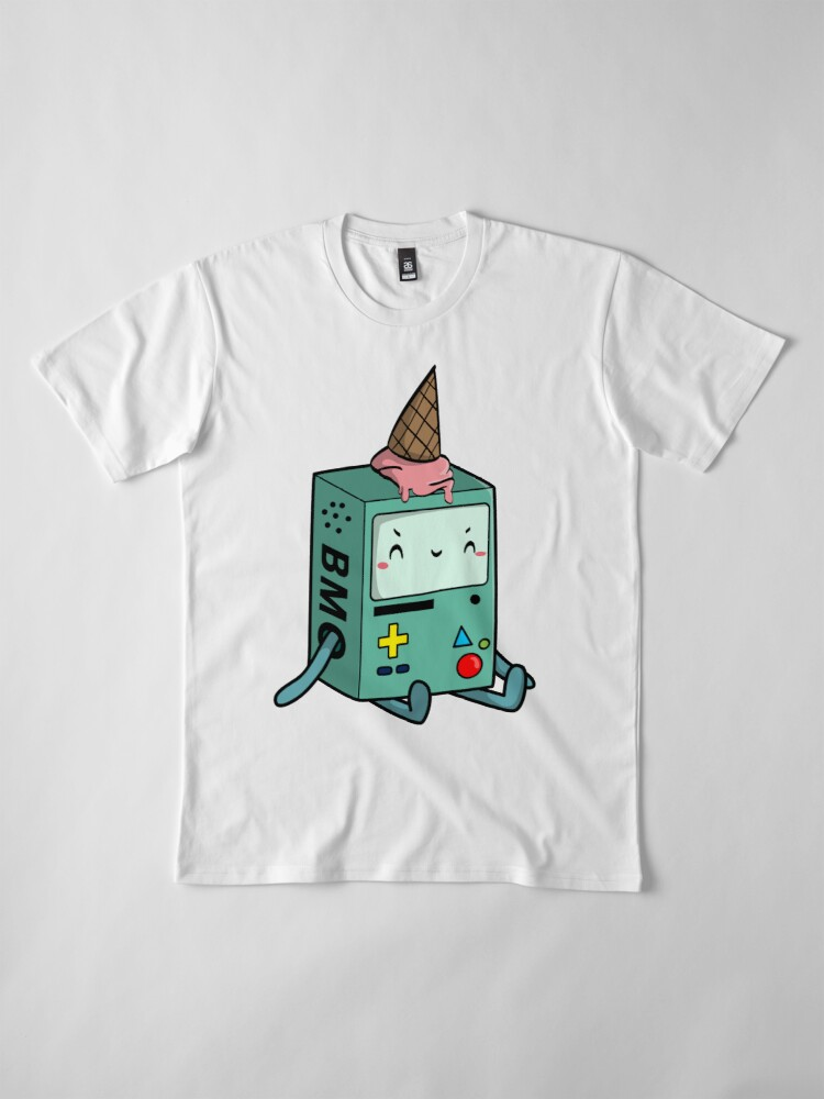 Alternate view of BMO adventure time Premium T-Shirt