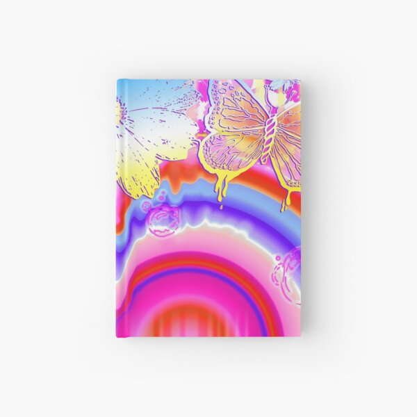 Psychedelic Paradise Hardcover Journal