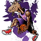 Vince Carter GOAT Dunker by killustrator
