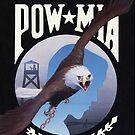POW MIA with Bald Eagle by Tasty Clothing