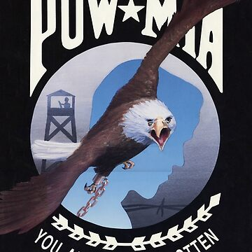 POW MIA with Bald Eagle by Deadscan