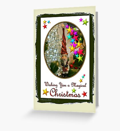 Christmas Memories ~ Must be Santa Greeting Card