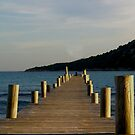 the pier by Heike Nagel