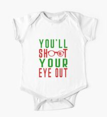 Shoot Your Eye Out  One Piece - Short Sleeve