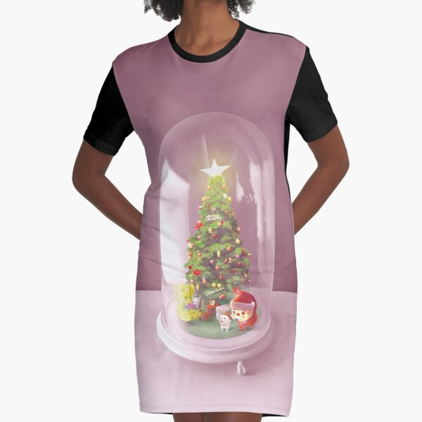 Ugly Sweater Winter with Firework Rocket Candy Canes Bells /& Mistletoes T-Shirt