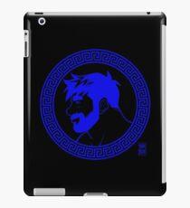 ADAM LIKES GREECE - BLUE iPad Case/Skin