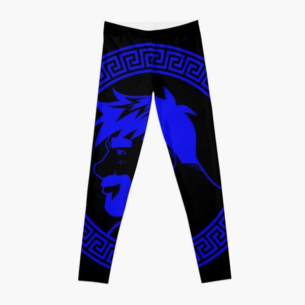 ADAM LIKES GREECE - BLUE Leggings