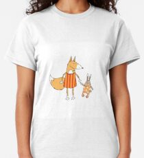 Fox and hare. Classic T-Shirt