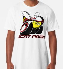Scat Pack Red Outline Long T-Shirt
