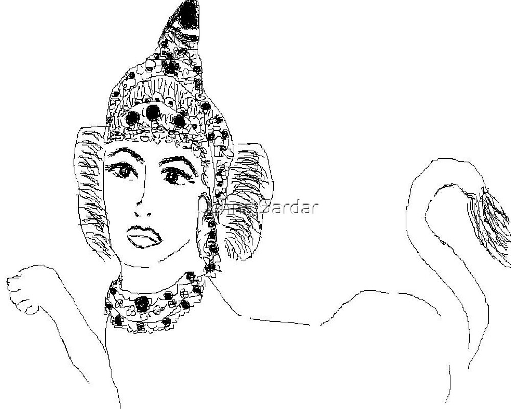Sphinx by Ushna Sardar